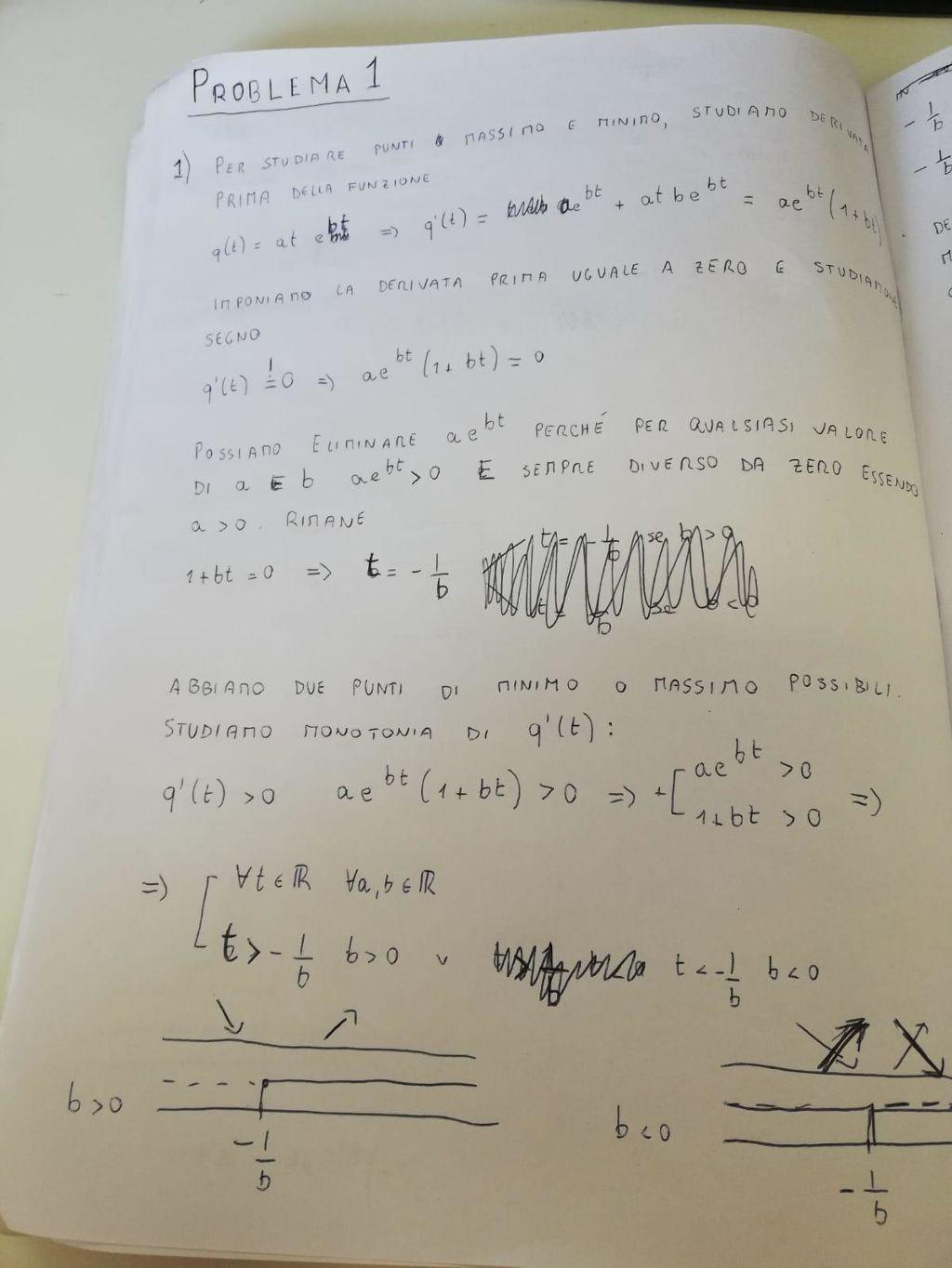 problema 1 scientifico