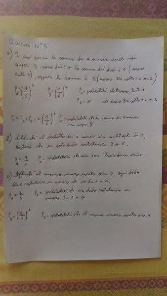 Quesito scientifico 5