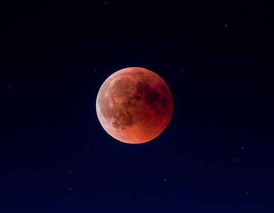 dove vedere eclissi di luna 2019