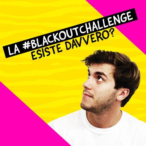 blackout challenge su Tiktok con Eddy